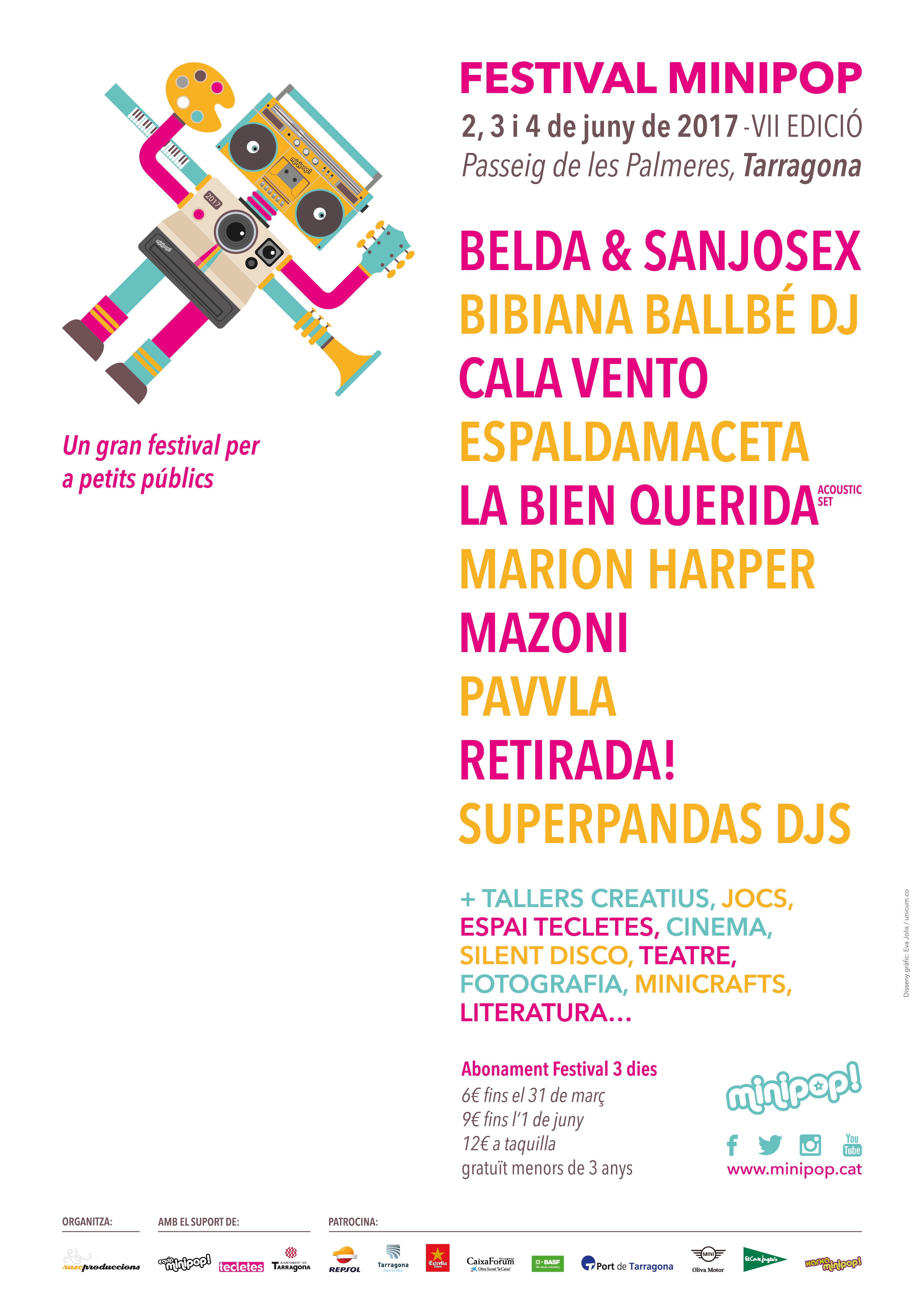 cartell minipop2017